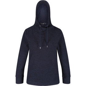 Regatta Kizmit II Fleece Hoodie Dames, navy/black